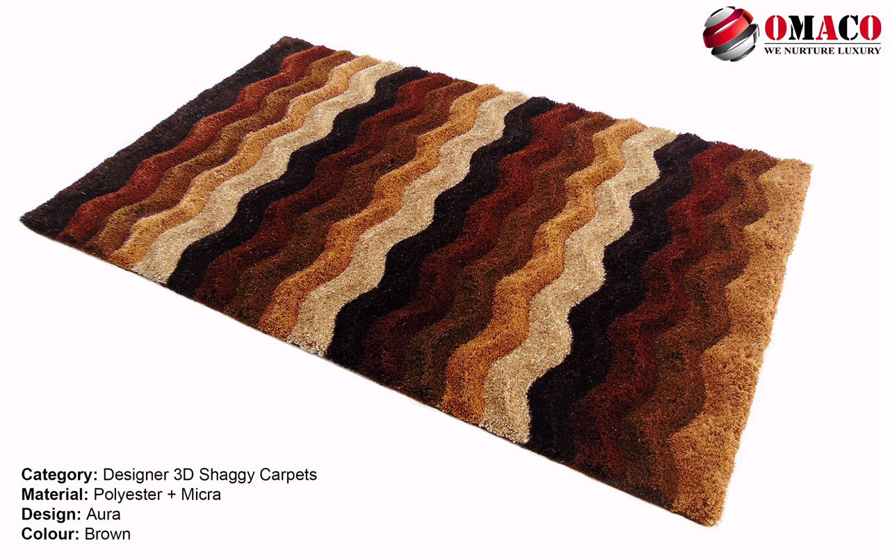 3D shaggy carpet pics wid antiskid backing r below.  Sizes are: 3x5, 4x6 and 5x7.